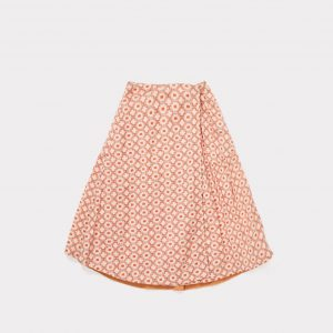 Caramel  - JUPIA SKIRT KALEIDO RED - Clothing