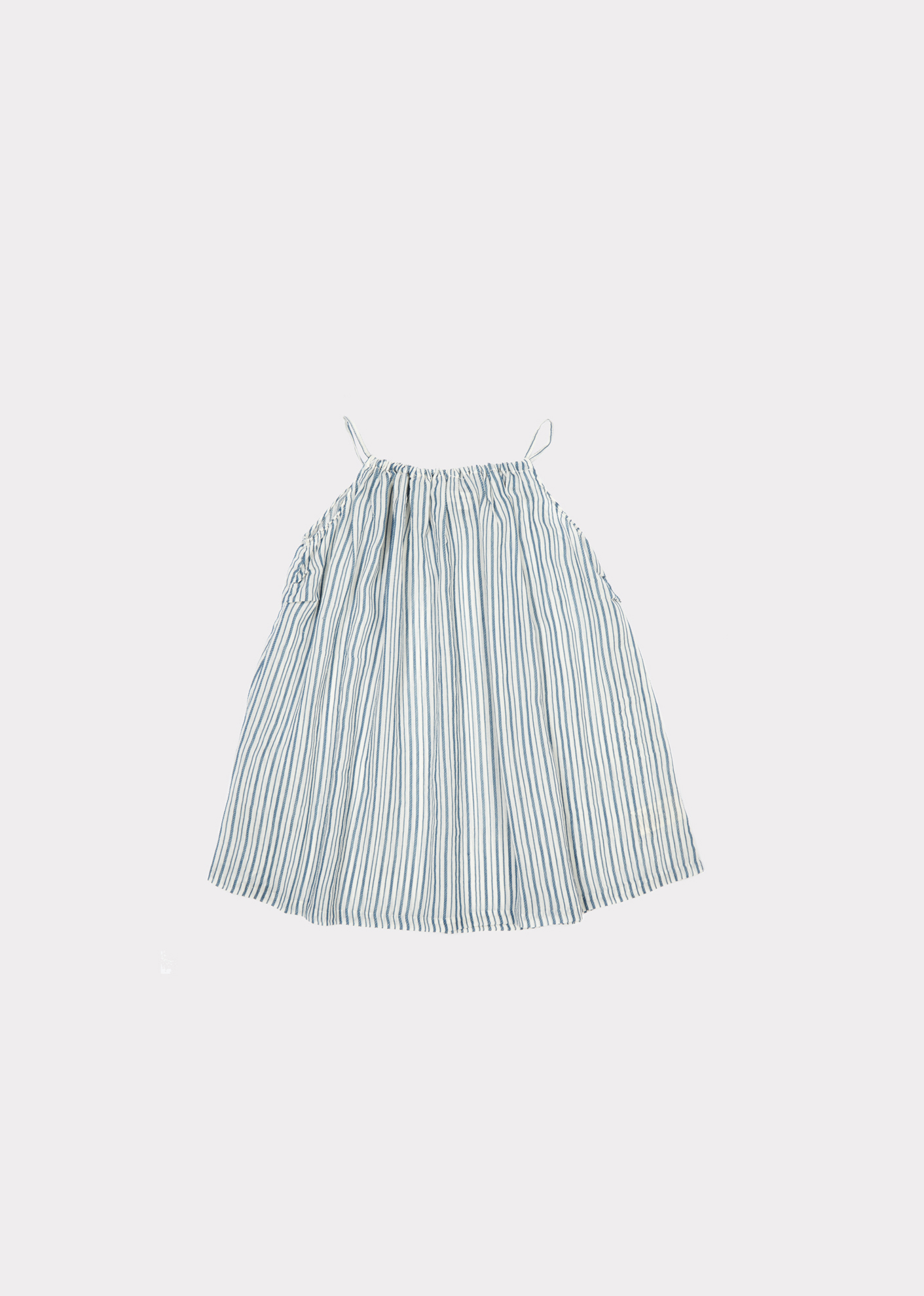 Caramel  - WINDERMERE BABY DRESS BLUE STRIPE - Clothing