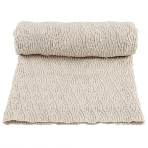 Konges Sløjd  - BLANKET POINTELLE OFF WHITE - Homeware