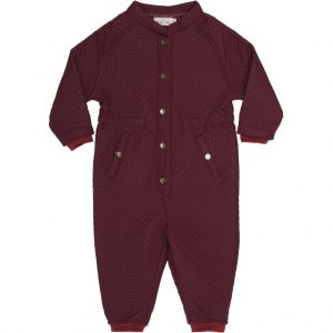 Konges Sløjd  - THERMO ONESIE MAROON - Clothing
