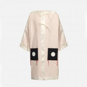 Owa Yurika  - AMANI COAT PINK - Clothing