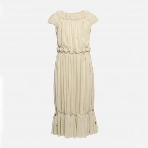 Owa Yurika  - SASHA DRESS CREAM - Clothing