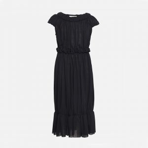 Owa Yurika  - SASHA DRESS NAVY - Clothing
