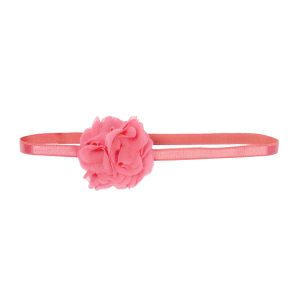 Wild & Gorgeous  - Pom Pom Headband Coral - Accessories