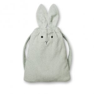 Liewood  - THOR TOWEL BACK PACK RABBIT DUSTY MINT - Homeware