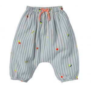 Bonheur du Jour  - WILLY EMBROIDERED PANTS STRIPE - Clothing