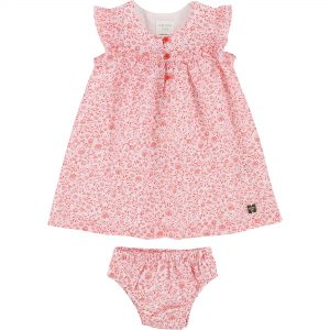 Carrément Beau  - BABY FLORAL DRESS AND BLOOMER SET - Clothing