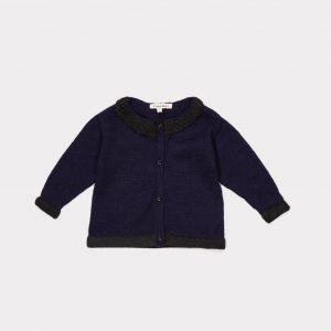 Caramel  - KIVU BABY CARDIGAN NAVY - Clothing