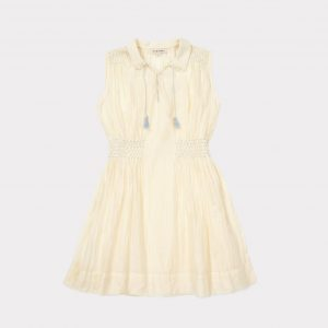 Caramel  - BREZEL DRESS PALE YELLOW - Clothing