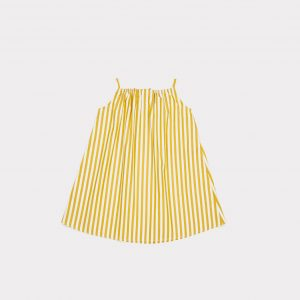 Caramel  - WINDERMERE BABY DRESS YELLOW STRIPE - Clothing