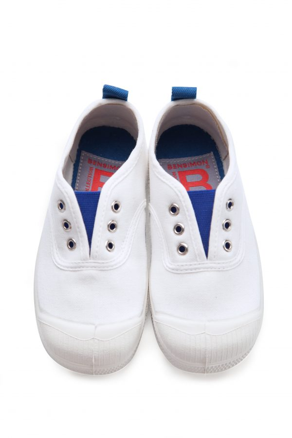 Bensimon  - Kids Elly Tennis Whity Blue - Footwear