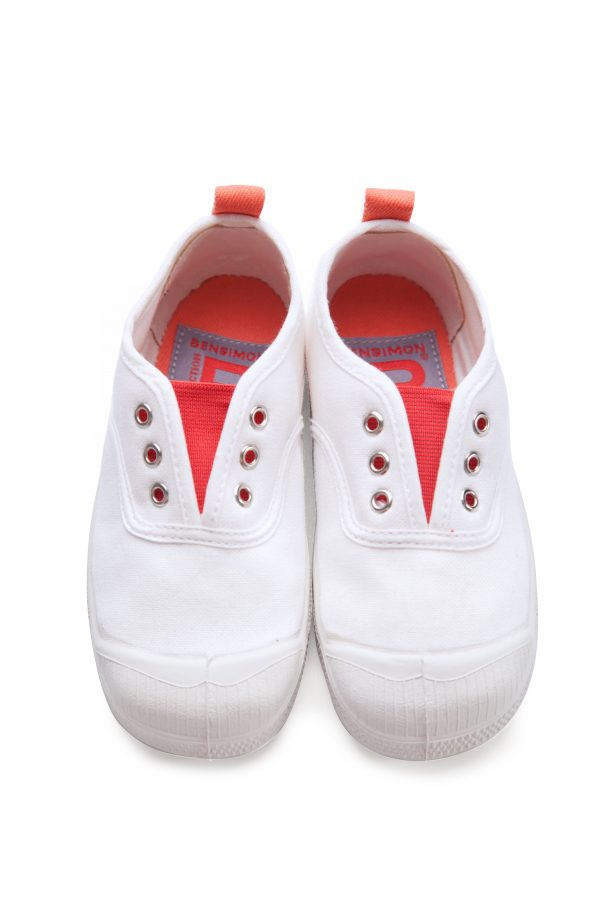 Bensimon  - Kids Elly Tennis Whity Coral - Footwear