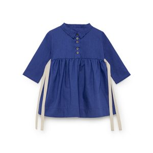 Little Creative Factory  - BABY HORIZON DRESS BLUE - Clothing