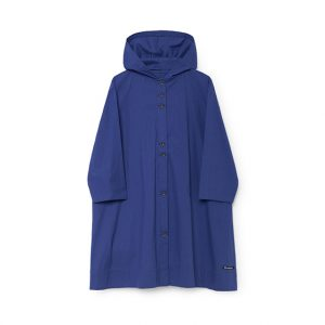 Little Creative Factory  - HORIZON HOODED DRESS BLUE - Clothing