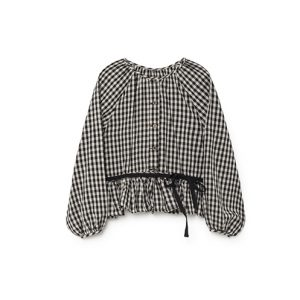 Little Creative Factory  - CHECKED BLOUSE - Clothing