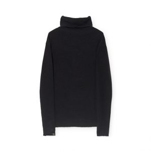 Little Creative Factory  - TRICOT ROLL NECK BLACK - Clothing