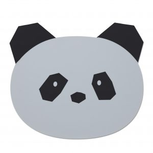 Liewood  - AURA PLACEMAT PANDA DUMBO GREY - Homeware