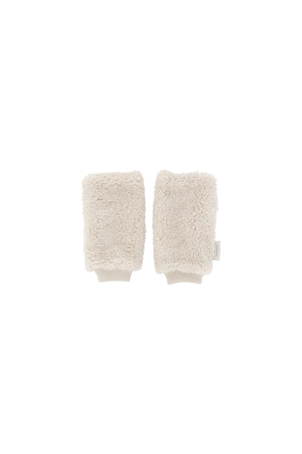 Tinycottons  - FLUFFY LEG WARMER BEIGE - Clothing