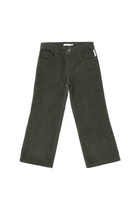 Tinycottons  - CORDUROY PANTS DARK GREEN - Clothing