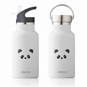 Liewood  - ANKER WATER BOTTLE PANDA LIGHT GREY - Homeware