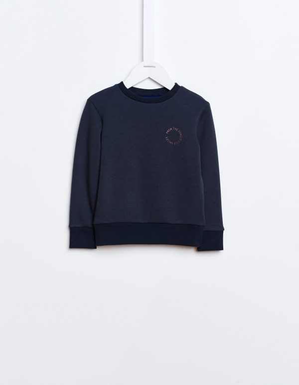 Bellerose  - AKNE SWEATSHIRT NAVY - Clothing