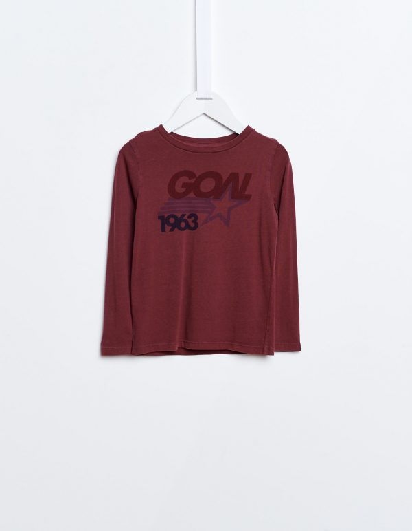 Bellerose  - KENO T-SHIRT PLUM - Clothing