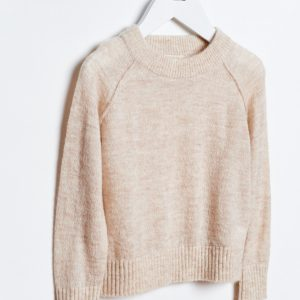 Bellerose  - DEINZE SWEATER BEIGE - Clothing