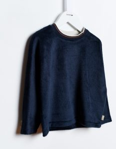 Bellerose  - ASTIN SWEATSHIRT NAVY - Clothing