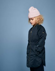 Bellerose  - LAETHEM LONG PARKA NAVY - Clothing
