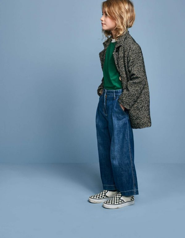 Bellerose  - PAPA WIDE DENIM PANTS - Clothing