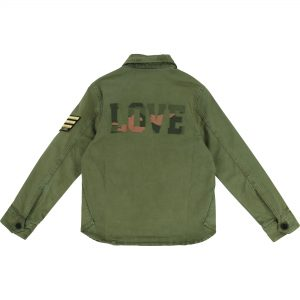 Zadig & Voltaire  - LOVE JACKET MILITARY GREEN - Clothing