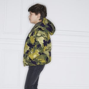 Zadig & Voltaire  - REVERSIBLE PARKA MILITARY GREEN - Clothing