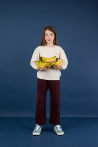 Tinycottons  - RIB COOL PANTS PLUM - Clothing