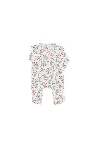 Tinycottons  - CRANBERRIES ONE-PIECE LIGHT GREY - Clothing