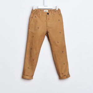 Bellerose  - PIERO CHINO PANTS CARAMEL - Clothing