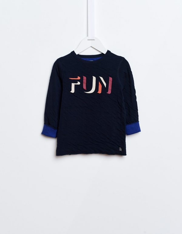 Bellerose  - SOKAN SWEATSHIRT NAVY - Clothing
