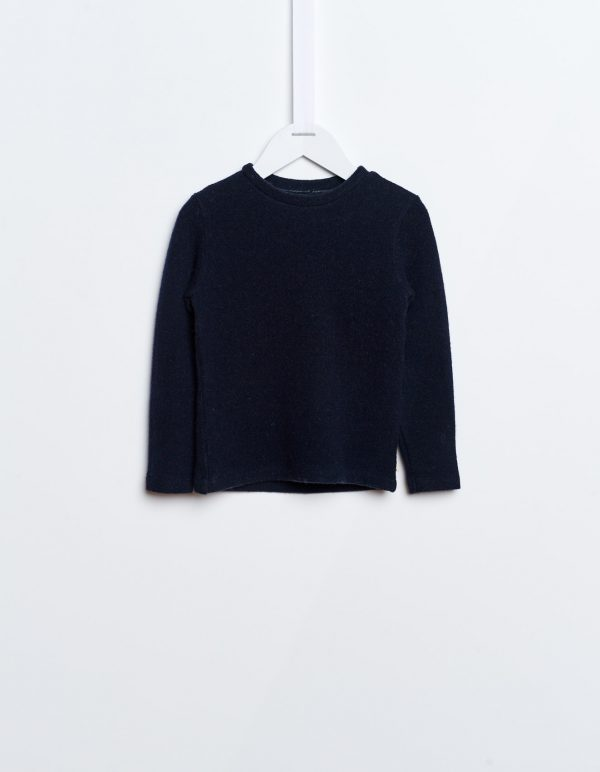 Bellerose  - FIDI SWEATSHIRT NAVY - Clothing