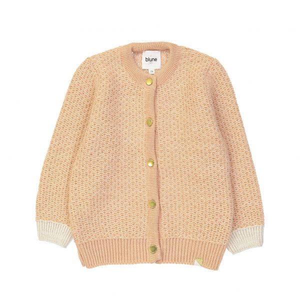 Blune  - GLAGLA CARDIGAN ROSE - Clothing