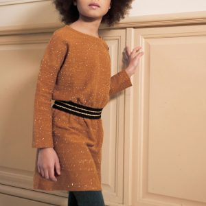 Blune  - CHEERS DRESS CARAMEL - Clothing
