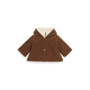Bonton  - BABY CAMION BURNOU CHESTNUT BROWN - Clothing