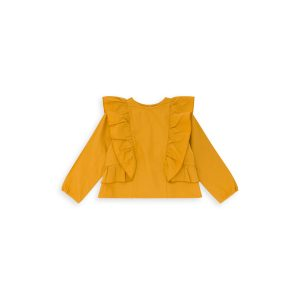 Bonton  - NICE BLOUSE MUSTARD YELLOW - Clothing