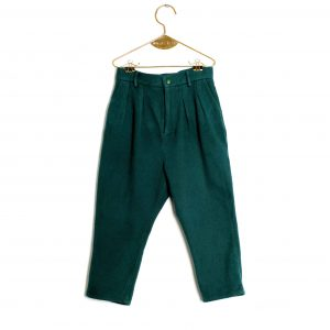 Wolf & Rita  - ANDRE GREEN TROUSERS - Clothing