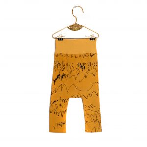 Wolf & Rita  - JOAO MUSTARD LOVE AND LOVE TROUSERS - Clothing