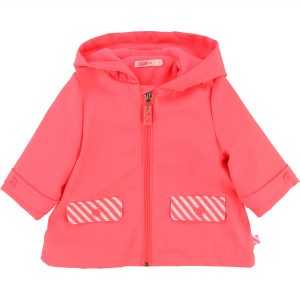 Billieblush  - BABY RAINCOAT HOT PINK - Clothing
