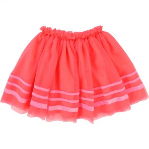 Billieblush  - MESH SKIRT HOT PINK - Clothing