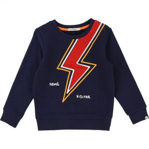Billybandit  - LIGHTNING SWEATSHIRT NAVY - Clothing