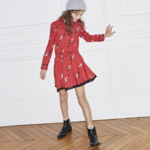 Zadig & Voltaire  - GUITAR DRESS RED - Clothing