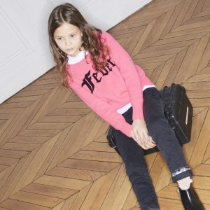 Zadig & Voltaire  - FEVER SWEATER HOT PINK - Clothing