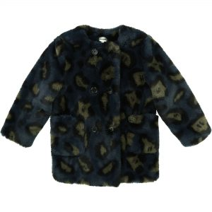 Zadig & Voltaire  - CAMOUFLAGE FAKE FUR COAT - Clothing