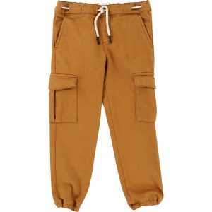 Carrément Beau  - STRETCH TWILL TROUSERS CARAMEL - Clothing